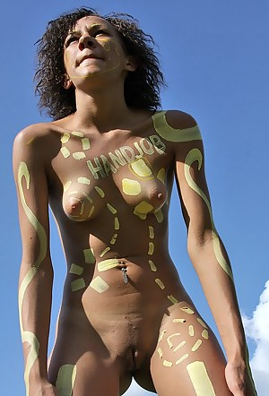Hot Teen Body Paint Porn Pictures